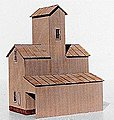 Silex Elevator Kit -- HO Scale Model Railroad Building -- #121
