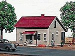 1-1/2 Story House w/Porch - 139 Maple Street Kit -- HO Scale Model Railroad Building -- #139