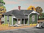 Old Man Dan's House Kit -- HO Scale Model Railroad Building -- #151