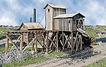 Martinsburg Coal Mine #1 Kit -- HO Scale Model Railroad Building -- #164