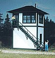 Interlocking Tower Kit -- N Scale Model Railroad Building -- #602