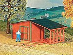 Gandy Dancers Shack Kit -- HO Scale Model Railroad Building -- #792