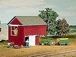 Loft Barn Kit -- HO Scale Model Railroad Building -- #794