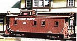 Class C-30-1 Caboose - Kit Southern Pacific -- HO Scale Model Train Freight Car -- #853