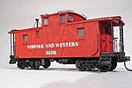Class CF Caboose - Kit Norfolk & Western -- HO Scale Model Train Freight Car -- #864