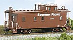 Modernized C30-1 Caboose - Kit Southern Pacific -- HO Scale Model Train Freight Car -- #876