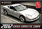 2012 CORVETTE COUPE -- Plastic Model Car Kit -- 1/25 Scale -- #756