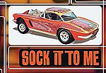 1962 Corvette Sock It To Me -- Plastic Model Car Kit -- 1/25 Scale -- #803