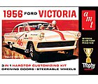 1956 Ford Victoria -- Plastic Model Car Kit -- 1/25 Scale -- #807
