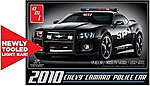 2010 Chevy Camaro Police Car -- Plastic Model Car Kit -- 1/25 Scale -- #817
