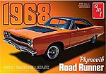 1968 Plymouth Roadrunner -- Plastic Model Car Kit -- 1/25 Scale -- #821