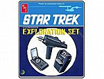 STAR TREK EXPLORATION SET -- Science Fiction Plastic Model Kit -- #848