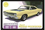 1968 Plymouth Roadrunner (Yellow) -- Plastic Model Car Truck Vehicle Kit -- 1/25 Scale -- #849