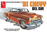 1951 Chevy Bel Air -- Plastic Model Car Kit -- 1/25 Scale -- #862