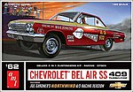1962 Chevrolet Bel Air SS 409 Turbo-Fire -- 1/25 Scale -- Plastic Model Car Kit -- #865