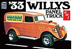 1933 Willys Panel Van -- 1/25 Scale -- Plastic Model Car Kit -- #879