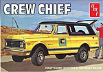 1/25 1972 Crew Chief Chevy Blazer -- Plastic Model Truck Kit -- 1/25 Scale -- #897