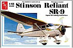 Stinson Reliant SR9 Airplane -- Plastic Model Airplane Kit -- 1/48 Scale -- #905
