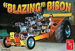 Blazing Bison Puller Tractor -- Plastic Model Truck Kit -- 1/25 Scale -- #1006-12