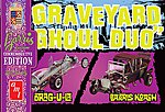 Graveyard Ghoul Duo (G.Barris Comm Edition) -- Plastic Model Car Kit -- 1/25 Scale -- #1017-12