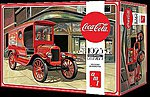 Coca Cola 1923 Ford Model T Delivery -- Plastic Model Car Kit -- 1/25 Scale -- #1024-12