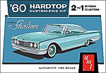 1960 Ford Starliner -- Plastic Model Car Kit -- 1/25 Scale -- #1055-12