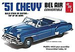 1951 Chevy Convertible -- Plastic Model Car Kit -- 1/25 Scale -- #608