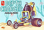 DEPTH CHARGER -- Plastic Model Car Kit -- 1/25 Scale -- #618