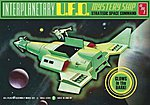 Interplanetary UFO Mystery Ship -- Science Fiction Plastic Model Kit -- #622