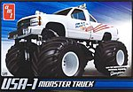 USA-1 Monster Truck -- Plastic Model Monster Truck Kit -- 1/25 Scale -- #632