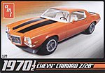 Chevy Camaro Z28 1970 1/2 -- Plastic Model Car Kit -- 1/25 Scale -- #635l/12