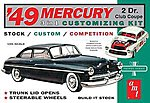 1949 Merc Club Coupe -- Plastic Model Car Kit -- 1/25 Scale -- #654