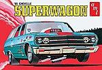 1965 Chevy Chevelle Super Wagon -- Plastic Model Car Kit -- 1/25 Scale -- #701