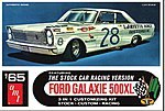 1965 Ford Galaxie Stock Car -- Plastic Model Car Kit -- 1/25 -- #723_12