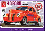 1940 Ford Coupe Original Art Series -- Plastic Model Car Kit -- 1/25 Scale -- #730_12