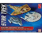 Star Trek Cadet Series Deep Space 9 -- Science Fiction Plastic Model Kit -- 1/2500 Scale -- #764-12