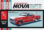1966 Chevy Nova Bill Jenkins -- Plastic Model Car Kit -- 1/25 Scale -- #772/12