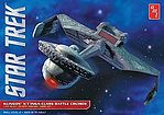 Star Trek Klingon K'tinga -- Plastic Model Spaceship Kit -- 1/537 Scale -- #794/12