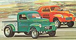 1940 Willys Coupe/Pickup -- Plastic Model Car Kit -- 1/25 Scale -- #818_12