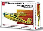 Beechcraft G17S Staggerwing -- Plastic Model Airplane Kit -- 1/48 Scale -- #886-12
