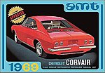1969 Chevy Corvair -- Plastic Model Car Kit -- 1/25 Scale -- #894-12