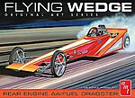 Flying Wedge Dragster Original Art Serie -- Plastic Model Car Kit -- 1/25 Scale -- #927-12