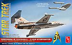 Star Trek F-104 Starfighter -- Science Fiction Plastic Model Kit -- 1/48 Scale -- #953-12