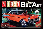 Cindy Lewis 1957 Chevy Bel Air w/Diorama White -- Plastic Model Car Kit -- 1/25 Scale -- #983-12