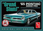 1965 Pontiac Grand Prix Grand Slam OAS White -- Plastic Model Car Kit -- 1/25 Scale -- #990-12