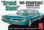1965 Pontiac Grand Prix Grand Slam Aqua -- Plastic Model Car Kit -- 1/25 Scale -- #991-12