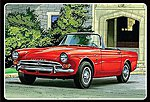 Sunbeam Tiger -- Plastic Model Car Kit -- 1/25 Scale -- #998-12