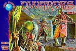 Dwarves Set #1 Mythical Figures (44) -- Plastic Model Fantasy Figure -- 1/72 Scale -- #72007