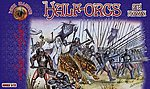 Half Orcs Set #1 -- Plastic Model Fantasy Figure -- 1/72 Scale -- #72015