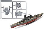 IJN Kongo Battleship -- Plastic Model Military Ship Kit -- 1/350 Scale -- #10945